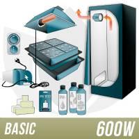 Kit Aeroponica 600w + Grow Box - BASIC