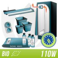 Kit Coltivazione Indoor BIOLOGICO - Neon Agro 110W