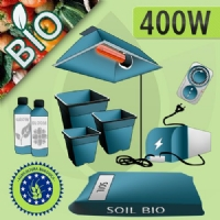 Kit Coltivazione Indoor Terra 400w - Biologico