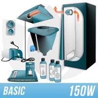 Kit Indoor Idroponica 150w + Grow Box - BASIC