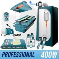 Kit Indoor Idroponica 400w + Grow Box - PRO