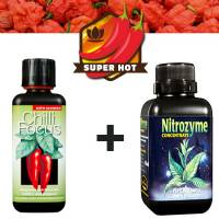 Kit Fertilizzanti Peperoncino 2 x 300ml (Chilli Focus + Nitrozyme)