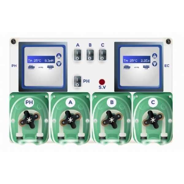Hydroponic system sistema di fertirrigazione automatico for Sistema di irrigazione automatico