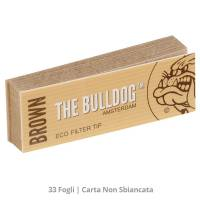 The Bulldog - Filtri Brown Eco 33 fogli (SINGOLO)