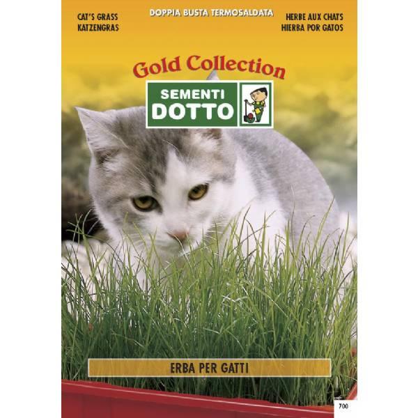 Linea fiori gold erba per gatti in mix for Erba per gatti