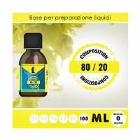 LOP - Base 80/20 100ml - Nicotina 0mg