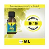 LOP - Base 80/20 250ml - Nicotina 0mg