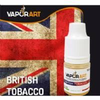 Vaporart British Tobacco 10ml - Nicotina 0mg/ml