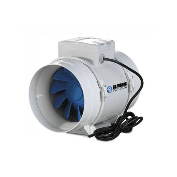 Blauberg bi turbo 15cm aspiratore aria estrattore aria - Impianto di ventilazione forzata bagno cieco ...