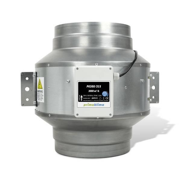 Estrattore aria prima klima pk 315 blue line 3200 m3 h - Estrattore aria bagno ...