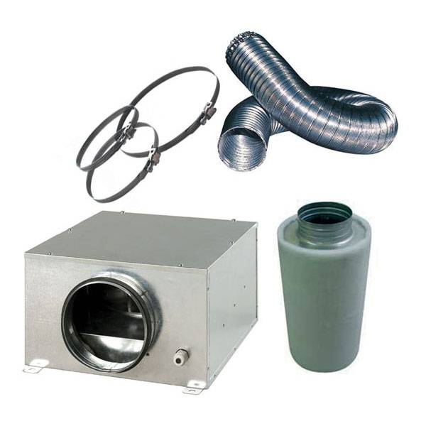 Kit aspirazione d 39 aria silent pro 31 5cm per areare il - Aspira odori cucina ...
