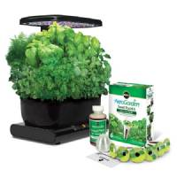 Aerogarden LED Black + Kit di Erbe da Gourmet
