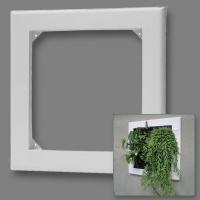 Cornice bianca per Flowall - 40x42cm