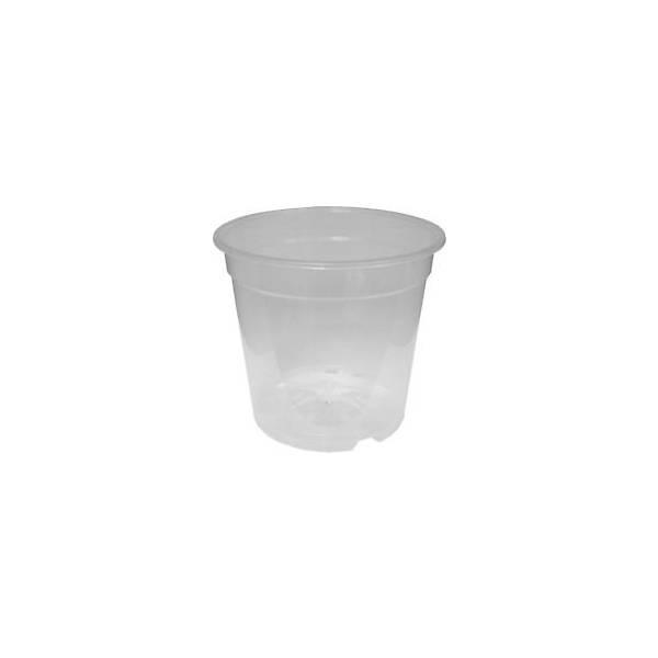 Vaso trasparente per orchidee in plastica in vendita online for Vendita vasi plastica