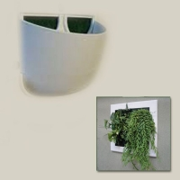 Vaso Extra Large per Flowall (Bianco)