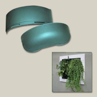 Vaso Extra Large per Flowall (Verde)