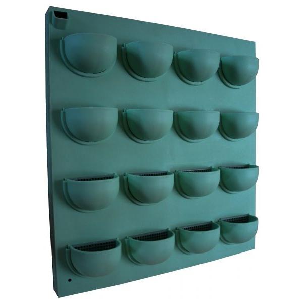 Rettangolo verde verticale Flowall 40 x 42cm